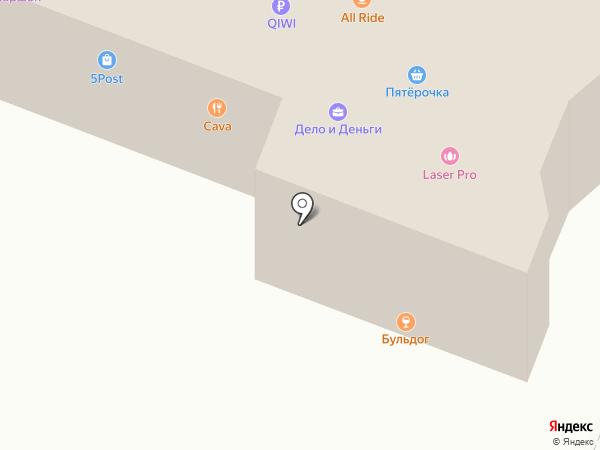 Бульдог на карте Йошкар-Олы