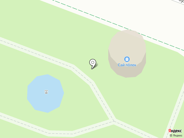 Сай пӧлек на карте Йошкар-Олы
