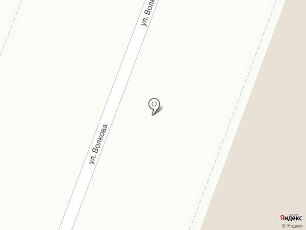 Афалина на карте Йошкар-Олы