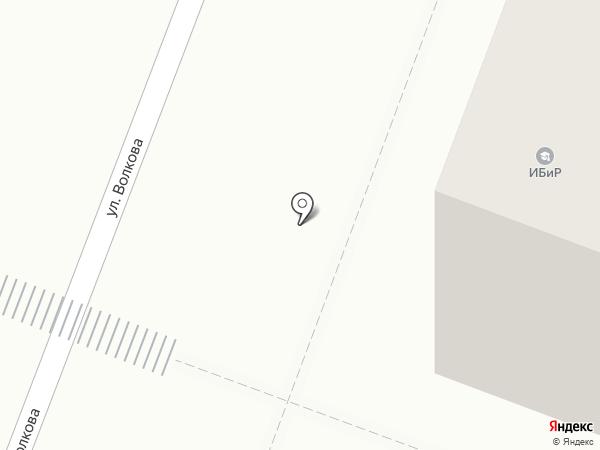 Институт бизнеса и рекламы на карте Йошкар-Олы