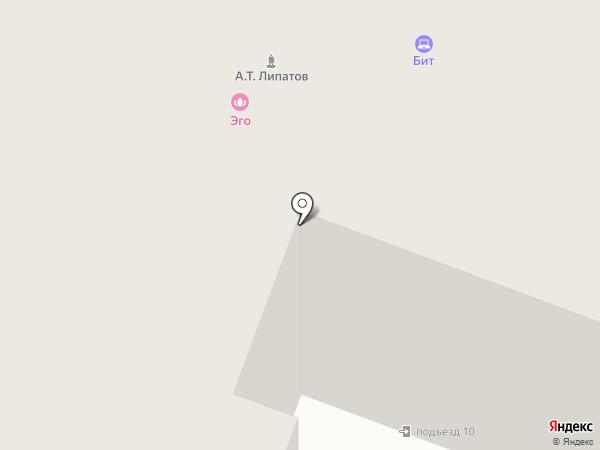 БиТ на карте Йошкар-Олы