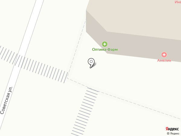 АМЕЛИК на карте Йошкар-Олы