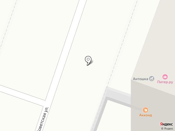 Питер.ру на карте Йошкар-Олы