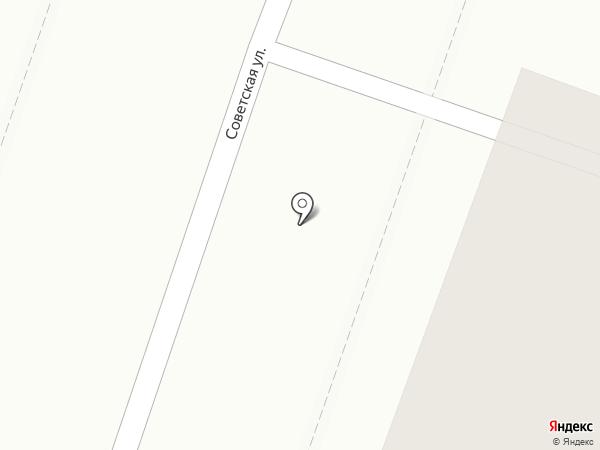 Технодача на карте Йошкар-Олы