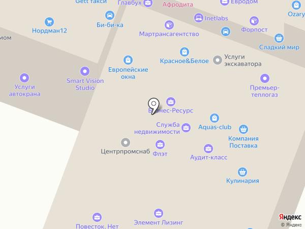 Рио на карте Йошкар-Олы