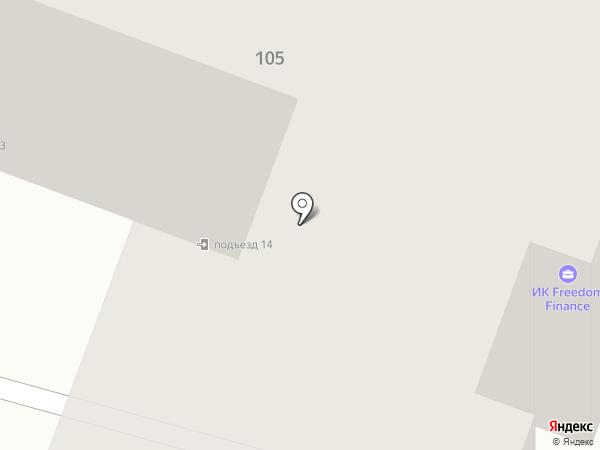 Минимум на карте Йошкар-Олы