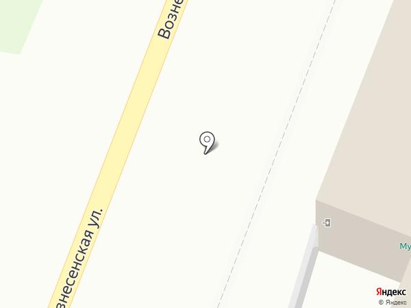 Царев город на карте Йошкар-Олы