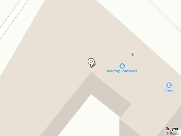 КрепМастер12 на карте Йошкар-Олы