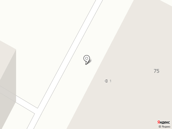 Теплый дом на карте Йошкар-Олы