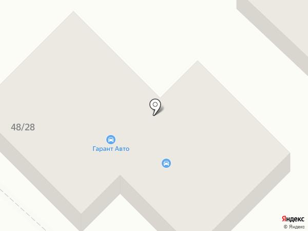 Автоклуб №1 на карте Йошкар-Олы