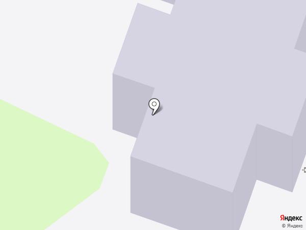 Росток на карте Йошкар-Олы