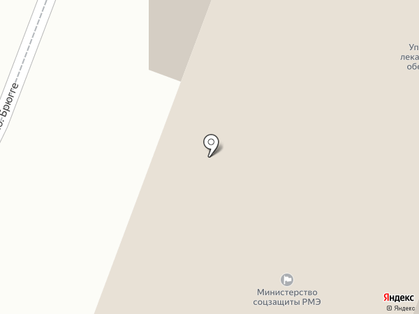 Медицинский информационно-аналитический центр на карте Йошкар-Олы