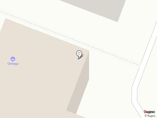 Omega-R на карте Йошкар-Олы