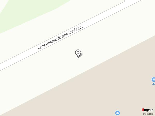 Автомойка 44 на карте Йошкар-Олы