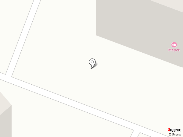 Мерси на карте Йошкар-Олы