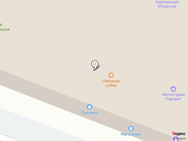 Канцлер на карте Йошкар-Олы