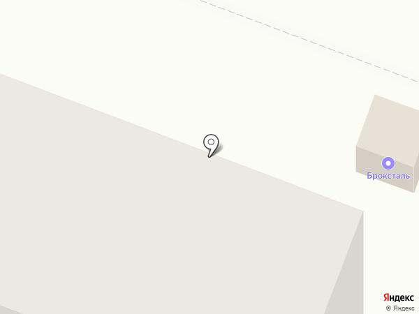 Броксталь на карте Йошкар-Олы