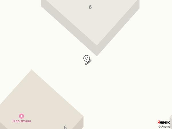 Жар-птица на карте Йошкар-Олы