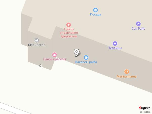 Магазин обучающих и развивающих игрушек на карте Йошкар-Олы