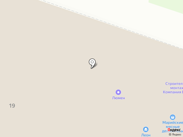 КУДРЯШКА на карте Йошкар-Олы