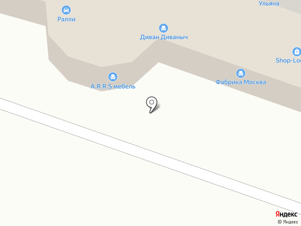 Лабиринт на карте Йошкар-Олы