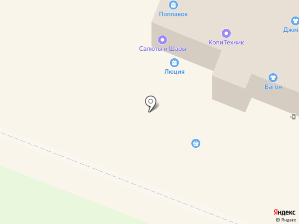 Сенто на карте Йошкар-Олы