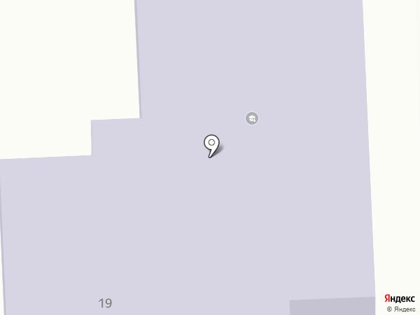 Журавлик на карте Мирного