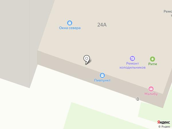 Ритм на карте Йошкар-Олы