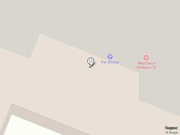 Атом на карте Йошкар-Олы