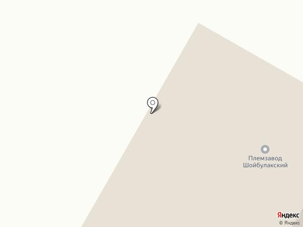 Шойбулакский, ЗАО на карте Шойбулака