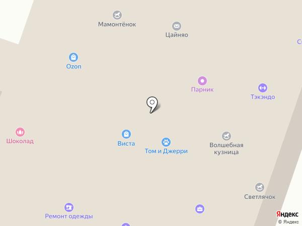 Шоколад на карте Йошкар-Олы