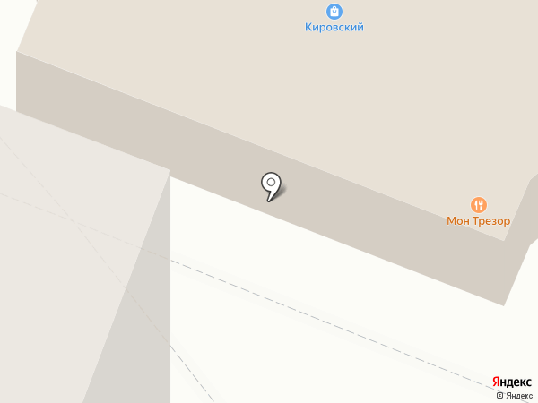 КИРОВСКИЙ на карте Йошкар-Олы
