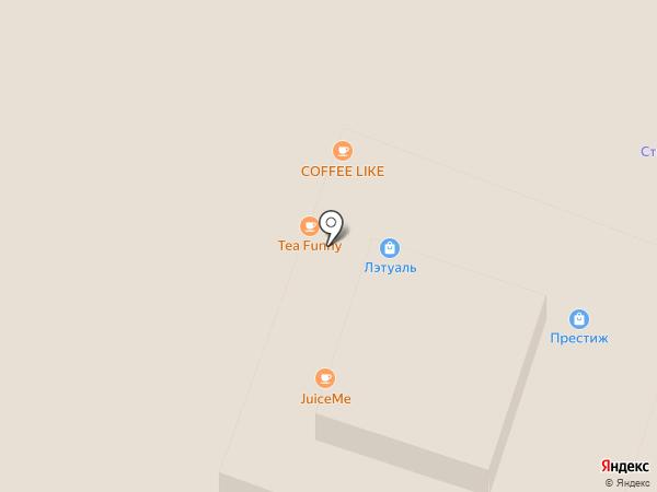 JuiceMe на карте Йошкар-Олы