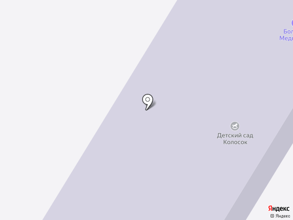 Колосок на карте Шойбулака