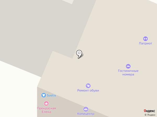 Гостиничный комплекс на карте Йошкар-Олы