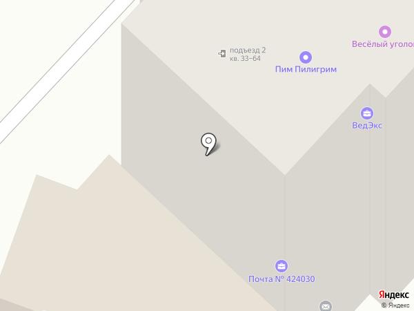 Альфа на карте Йошкар-Олы