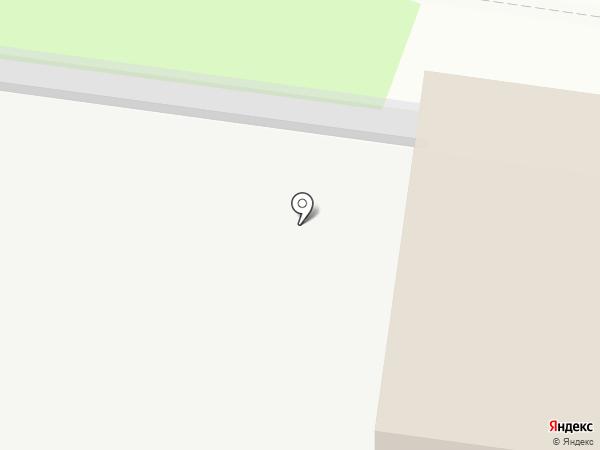 Автомойка на Кирпичной на карте Йошкар-Олы