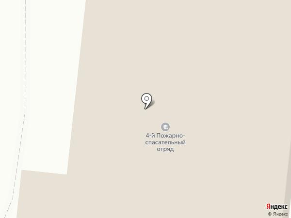 Пожарная часть №4, 4 отряд ФПС России по Республике Марий Эл на карте Йошкар-Олы
