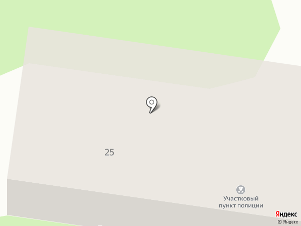 Участковый пункт полиции на карте Йошкар-Олы