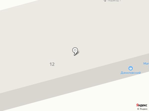 Даниловский на карте Йошкар-Олы