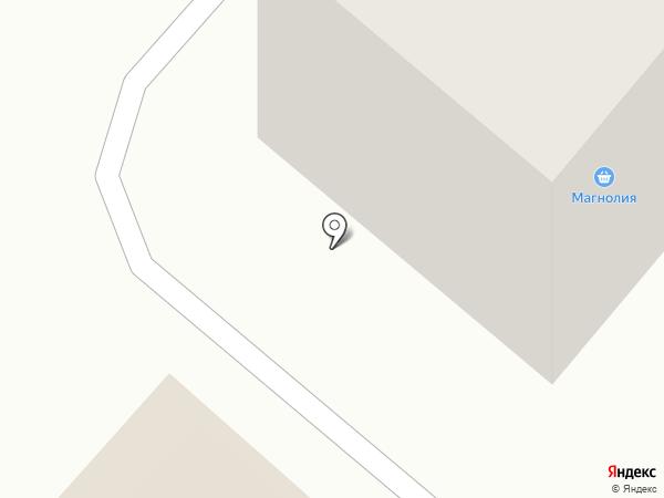 Магнолия на карте Йошкар-Олы