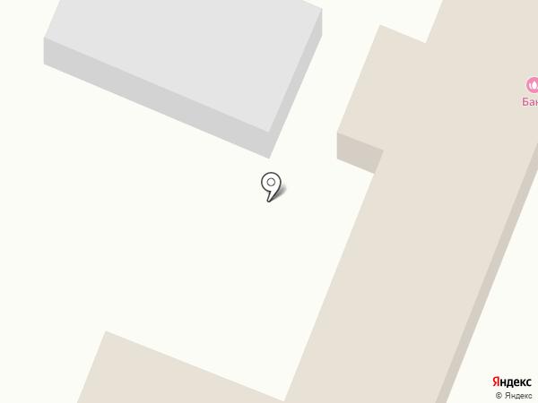 Заводская на карте Астрахани