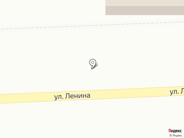 Киоск по продаже хлебобулочных изделий на карте Старокучергановки