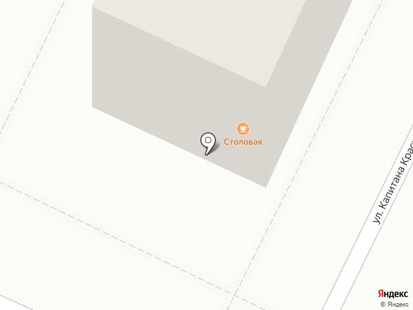 ТВОЯ на карте Астрахани