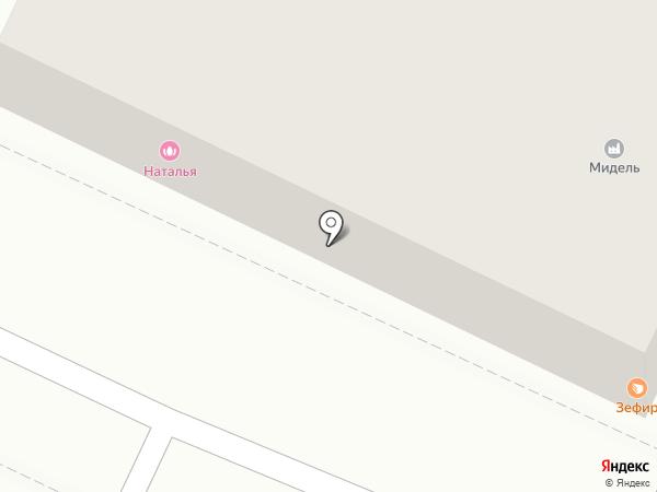Волго-Дон Сервис на карте Астрахани