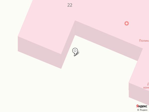 Поликлиника №3 на карте Астрахани