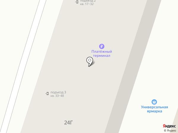 АстЛинк на карте Астрахани