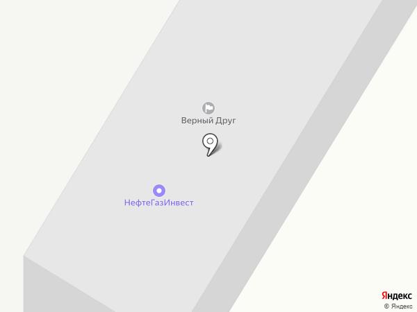 Районная инженерно-технологическая служба-3 на карте Трусово