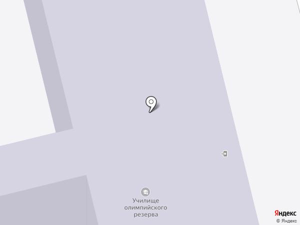 Училище олимпийского резерва на карте Йошкар-Олы