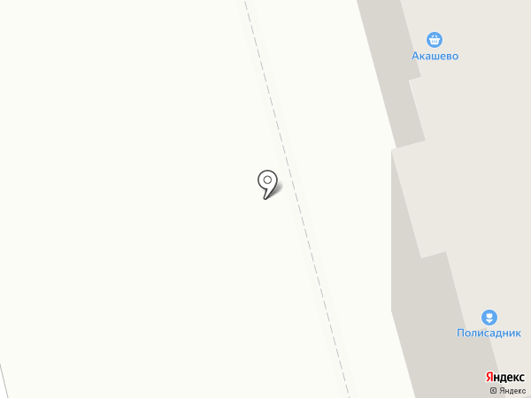Акашево на карте Йошкар-Олы